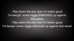 ugk diamonds u0026 wood lyrics hq youtube