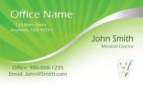 dental and medical business card design 301371