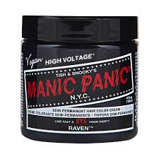 Black Hair Color Chart Manic Panic Hair Color Chart Asianfashion Us
