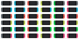 colour combos i made an updated chart with all 36 joy con colour combinations