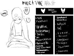 Meme Generator Tumblr - meet the artist meme comic fury webcomic hosting