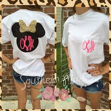 minnie mouse monogrammed shirt minnie head shirt customize