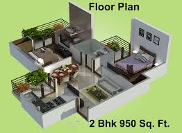 Floor Plans For Houses In India 1250 Sq Ft 2 Bhk 2t Apartment For Sale In Charms India Castle Raj