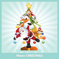 funny christmas card cartoon collage stock images page everypixel