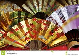 traditional japanese fan royalty free stock photography image