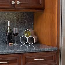 aluminum countertop wine rack creative countertop wine rack to