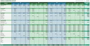 Make Spreadsheet Online 12 Free Marketing Budget Templates