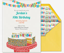 free kids birthday invitations u0026 online invites for children