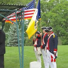Culpeper Minutemen Flag Color Guard Virginia Bulletin