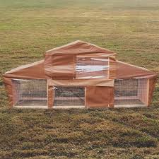 Rabbit Hutch With Large Run Rome Large Rabbit Hutch With Run Pet Animal House Bunny And Ferret