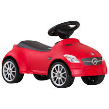 car mercedes red mercedes slk kids push along car red yellow u0026 white
