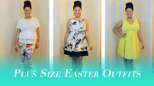 3 plus size easter youtube