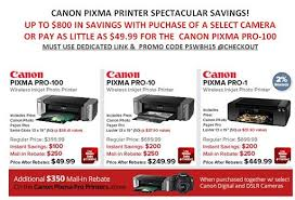 best deals on pixma my922 black friday deals huge discounts on canon pixma printers pro 100 at 50 pro 10 at