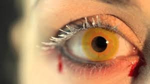 gold vampire contact lenses youtube