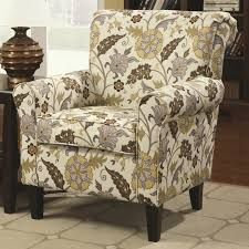 Floral Accent Chair Floral Accent Chairs With Arms Stylish Accent Chairs With Arms