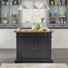 Home Styles Kitchen Islands Kitchen Island Black And Distressed Oak Homestyles