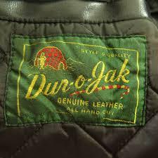 green motorcycle jacket vintage 50s dur o jak police leather jacket mens 40 schott