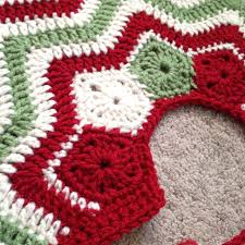 crocheted christmas cool idea christmas crochet ideas uk craft bazaar hat tree