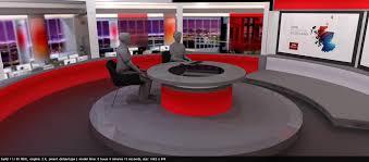 News Studio Desk by Bbc Scotland News Sport Studio A Studio Mock Yay Tv Forum