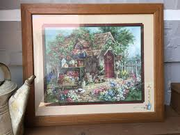 home interiors and gifts framed home interiors and gifts potting shed picture barbara