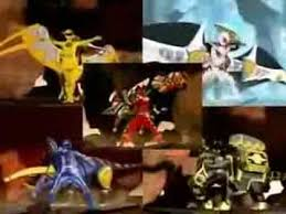 power rangers ninja storm dino thunder morphs