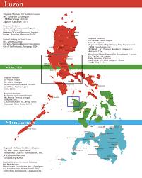 Luzon Map Philippines Map Luzon Visayas Mindanao