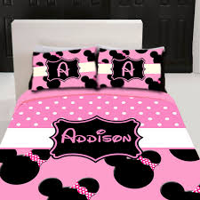 minnie mouse bedroom set minnie mouse custom personalized bedding set by 3psinapod2011