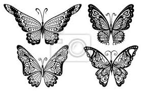 lace butterfly tattoos yes tattoos lace