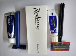 gillette indian shaving kit for hotel and travel rs 15 piece id