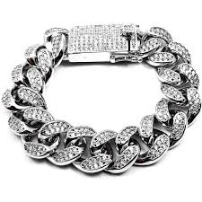 white gold link bracelet images 19mm iced out cuban link bracelet 18k white gold plated icedgold jpg