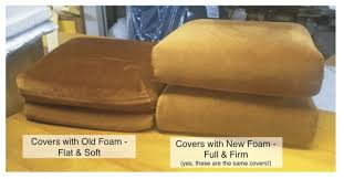 firm sofa cushion replacements foam sofa cushions inserts firm replacement for your beds se
