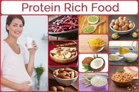 how to manage intake of protein rich foods during pregnancy