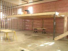 garage loft ideas how to frame a loft loft in pole barn general discussion