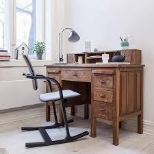bureau ergonomique fauteuil de bureau ergonomique en tissu et bois actulum varier