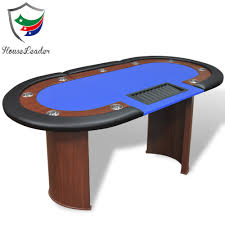 6 seat poker table 6 seat or 8 person or 12 seat poker table with blue felt poker table