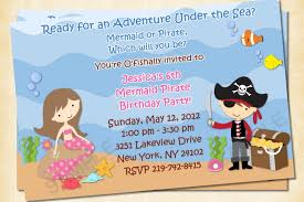 create your own pirate birthday invitations
