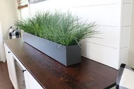 Diy Planter Box by Diy Planter Box Centerpiece U2013 Timber Crow