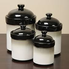 black and white kitchen canisters tag black white kitchen ceramic storage canisters jars set tea