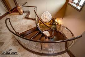 Stair Banister Rails Curved Stairs Curved Staircase Circular Staircase