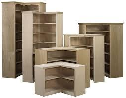 Bookcase Maple Maple And Oak Custom Unfinished Or Finished Awb Corner Bookcase