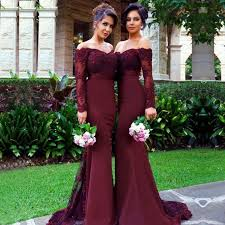 burgundy dress for wedding best 25 burgundy bridesmaid dresses ideas on burgundy