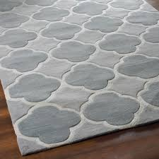 Light Gray Shades by Cloverleaf Quatrefoil Rug Shades Of Light
