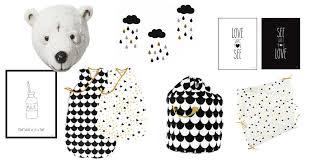 chambre bebe noir agréable deco chambre bebe design 2 noir et blanc la tendance