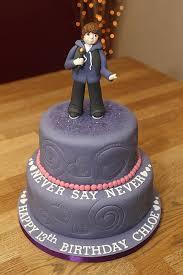 justin bieber cake figure handmade from fondant