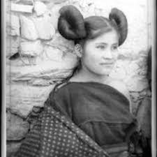 traditional cherokee hair styles very pretty hopi girl old native american photos pinterest