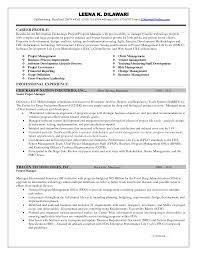 it project manager resume it project manager resume exles senior sles construction
