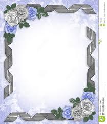 wedding invitation border designs blue yaseen for