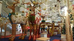 Commercial Reindeer Christmas Decorations by Simply Say Something Christmas Decorations At Bangsar Shopping