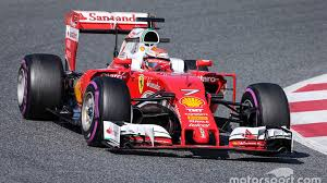 ferrari back barcelona f1 test raikkonen puts ferrari back on top disaster