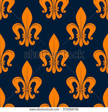 what is floral pattern in french classic french floral pattern seamless orange stock vector 372000736